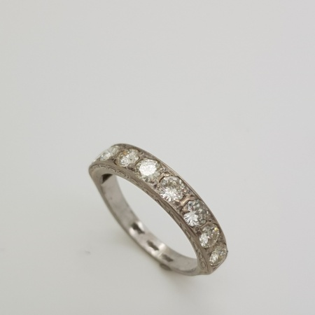 18ct White Gold Half Eternity