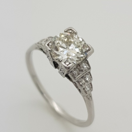 18ct  Diamond Solitaire
