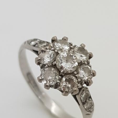 Platinum Diamond Cluster