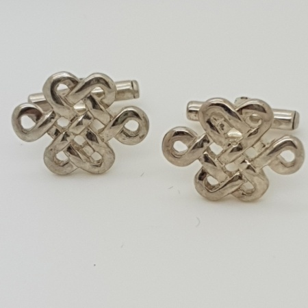 Silver Celtic  Cufflinks