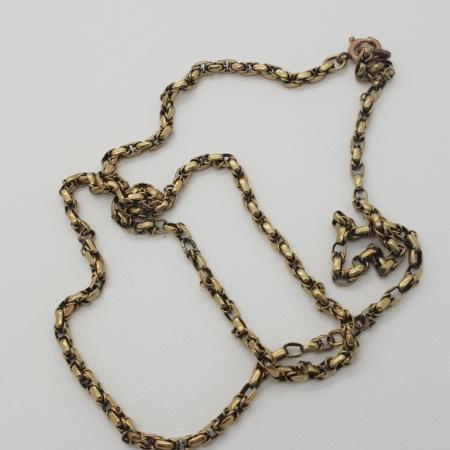 9 carat Belcher Link