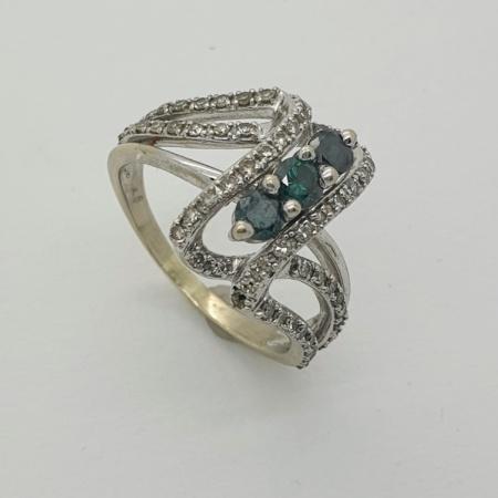 Alexandrite Diamond Twist