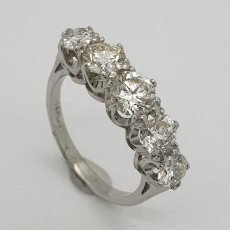 Five Stone Diamond