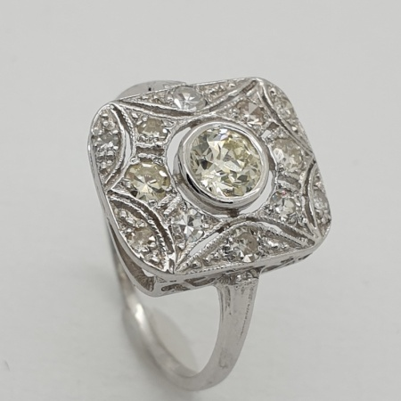 Art Deco Diamond Dress Ring