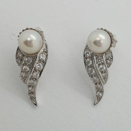 White Gold Cultured Pearls