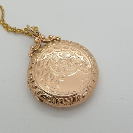 9ct Rose Gold Pendant
