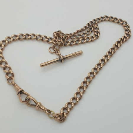 9ct Albert Watch Chain.