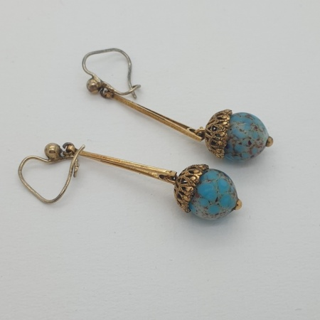 Vintage Turquoise Drops