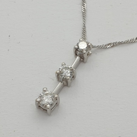 Diamond Trilogy Pendant