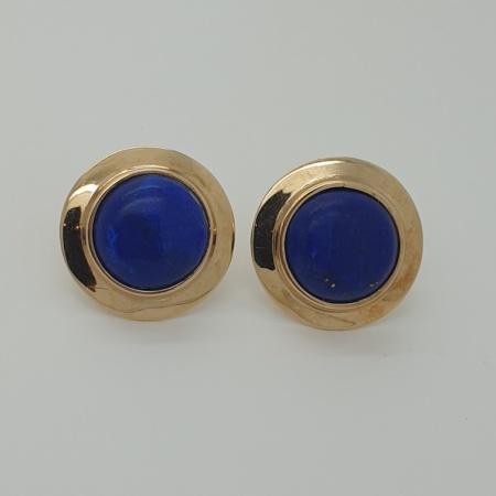 18ct Lapis Earrings