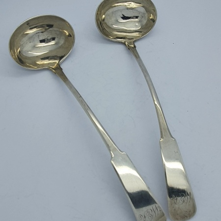 Provincial Aberdeen Silver Toddy Spoons
