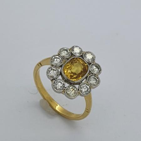 Yellow Sapphire Diamond