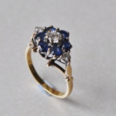 Diamond/Sapphire Cluster