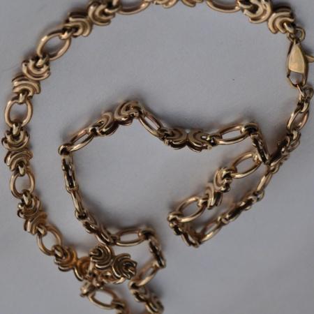 9ct Fancy Link Chain