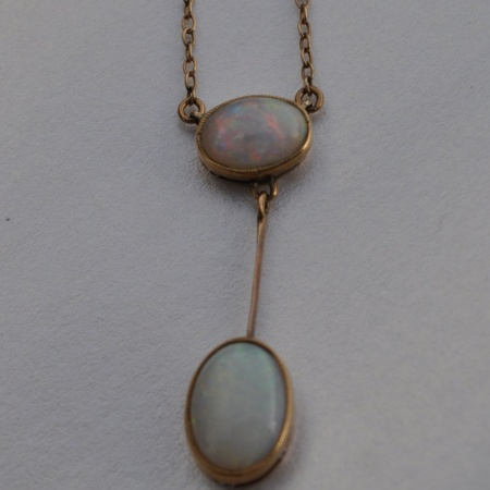 9ct Opal Drop