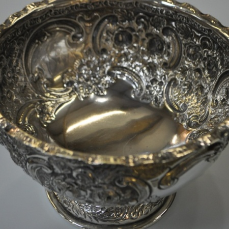 Silver Bowl London 1904