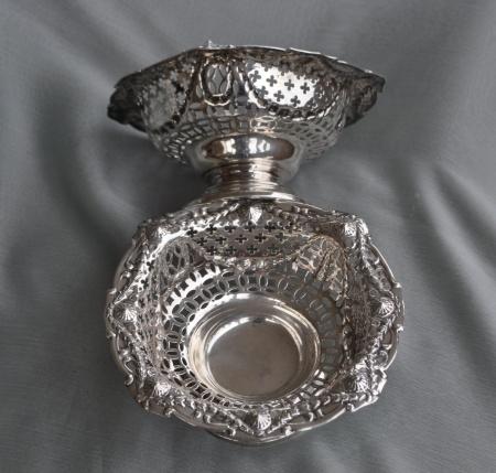 Silver Bon Bon Dishes