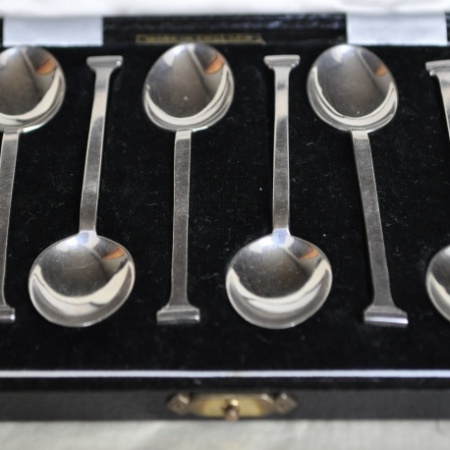 Silver Coffee Spoons