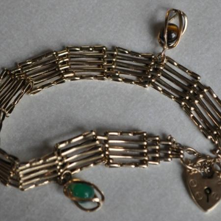 9ct Gate Bracelet