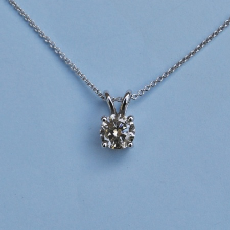 18ct Diamond Pendant
