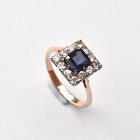 18ct Sapphire and Diamond