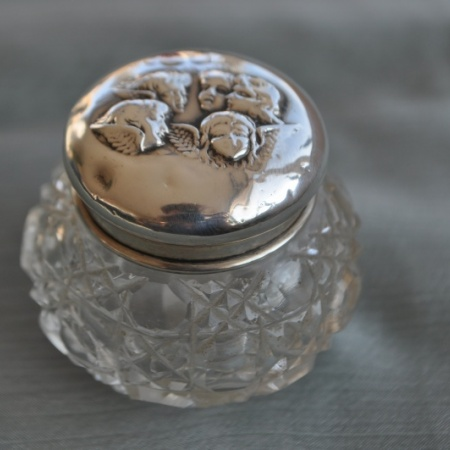 Silver Dressing Table Pot