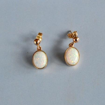 9ct Opal drops