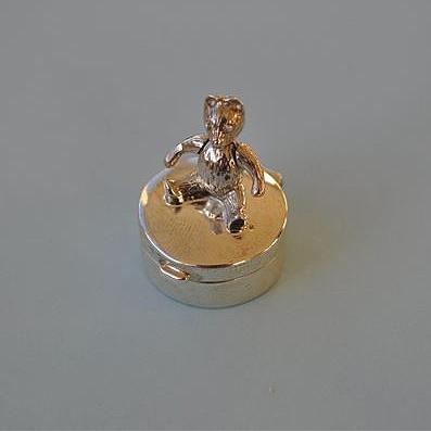Silver Fairy Box